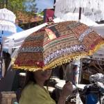 embellished umbrella