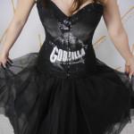 T-shirt corset fashion style