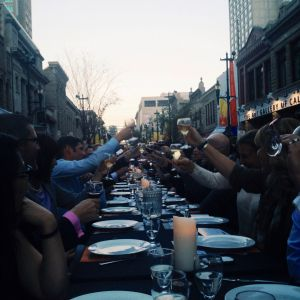 The Really Really Long Table Dinner by City Palate